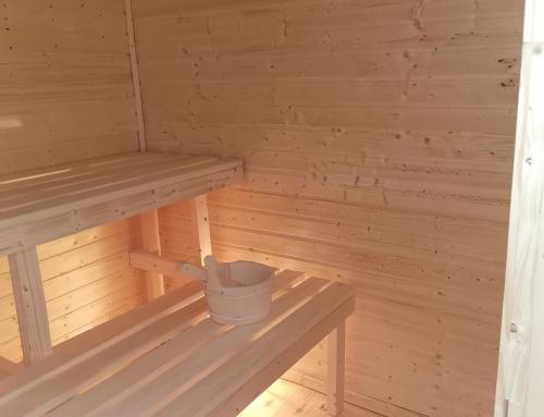Luxusná exteriérová fínska sauna na mieru NM_Šamorín
