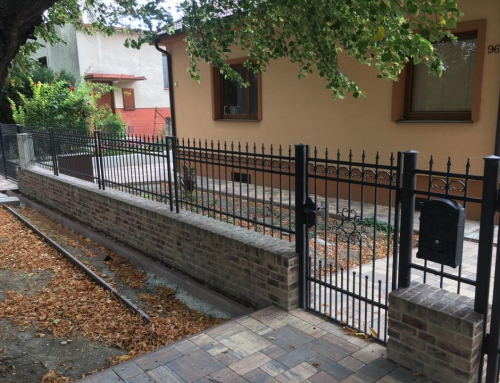 Klasický ôkovaný plot vo vidieckom štýle MJ Šamorín_Pomlejská